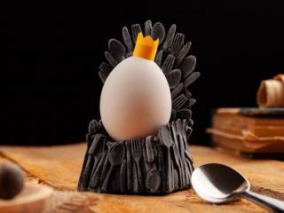Genial julegaveide til ham - Egg of thrones